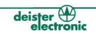 Stellenausschreibung Technikerschule deister elektronik_Applikationstechniker_logo