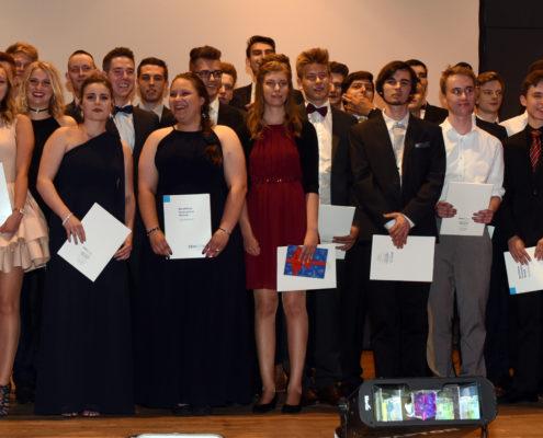 Die Abiturientinnen und Abiturienten 2017